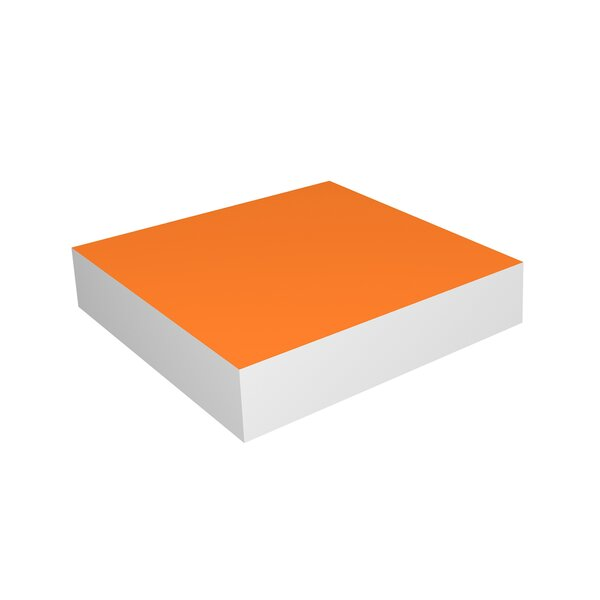 DwellStudio Tangerine Floating Small Shelf