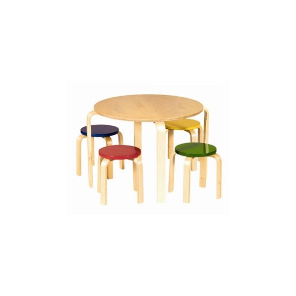 DwellStudio Primary Multi Table & Stool Set