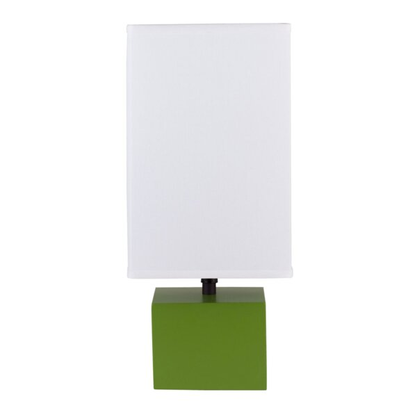 "DwellStudio Cadre 18"" H Table Lamp with Square Shade"