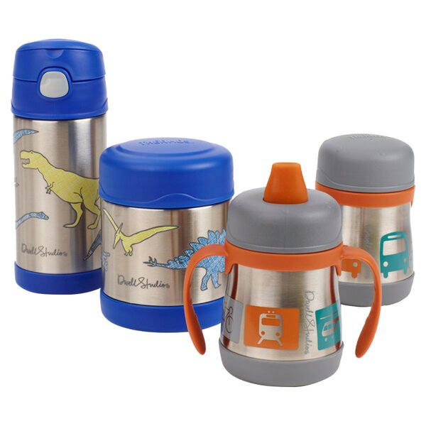 DwellStudio Transportation 7 oz Vacuum Insulated Food Jar