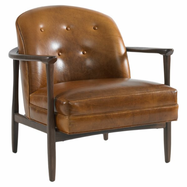 DwellStudio Olsen Leather Chair