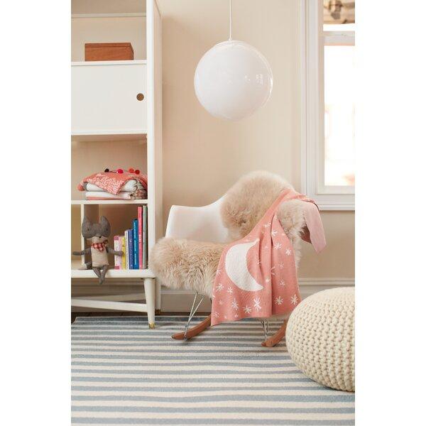 DwellStudio Petite Stripe Azure & Pearl Rug