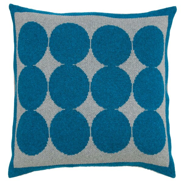 DwellStudio Graphic Dot Lapis & Grey Pillow