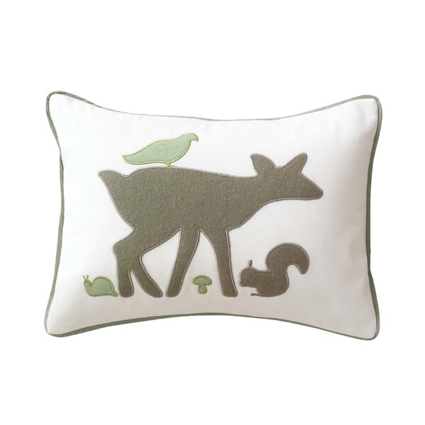 DwellStudio Woodland Tumble Boudoir Pillow