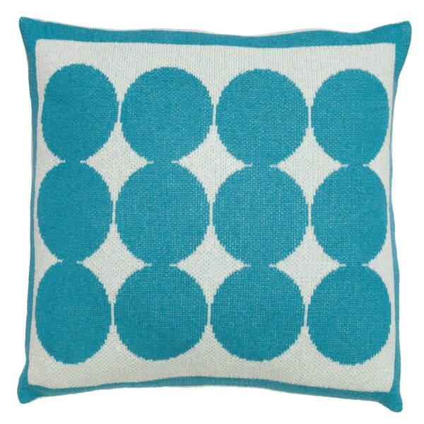 DwellStudio Graphic Dot Azure Pillow