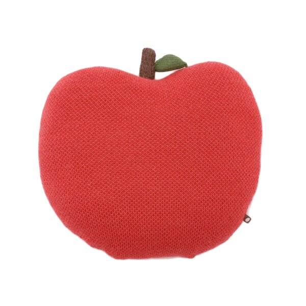 DwellStudio Coral Apple Pillow