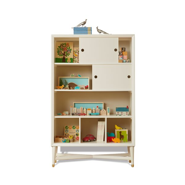 DwellStudio Mid-Century French White Bookcase
