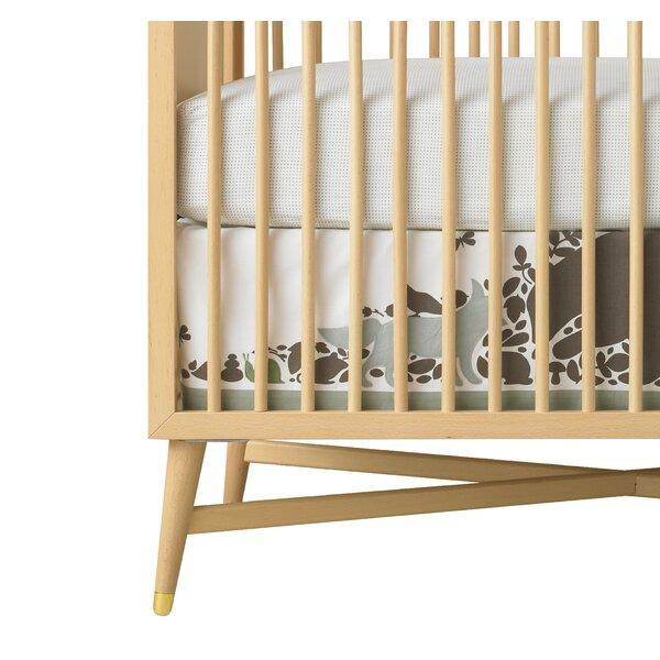 DwellStudio Woodland Tumble Canvas Crib Skirt