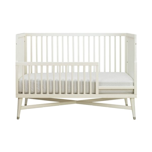 DwellStudio Mid-Century French White Toddler Rail