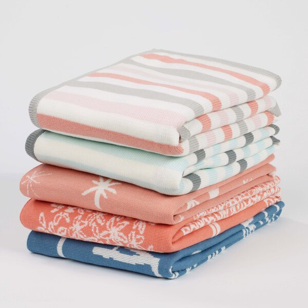 DwellStudio Treetops Knit Blanket