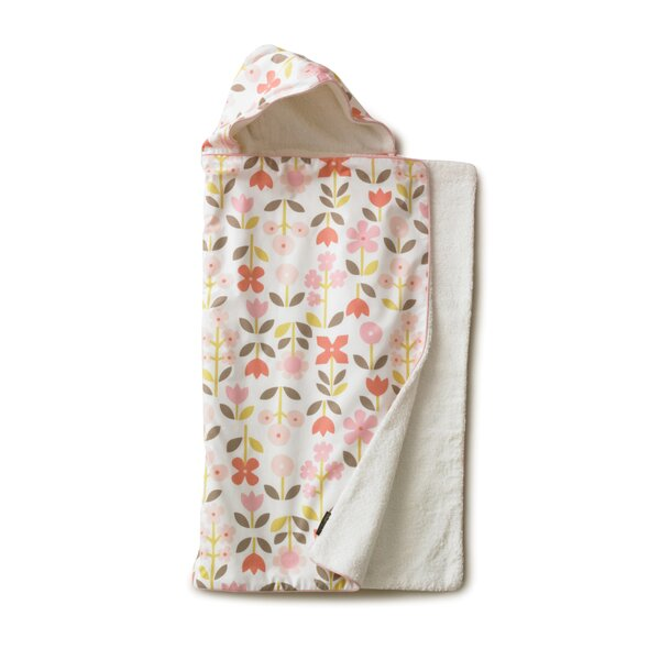 DwellStudio Rosette Hooded Towel