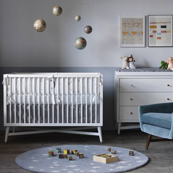 DwellStudio Stars Fitted Crib Sheet