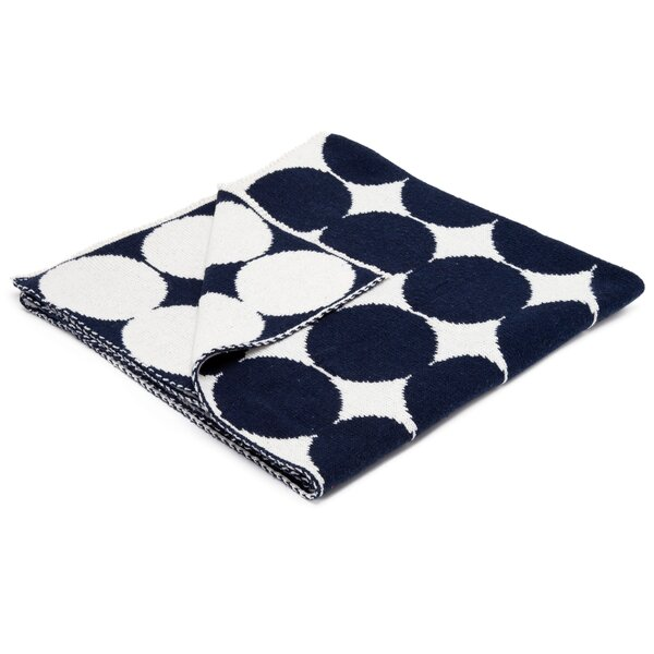 DwellStudio Graphic Dot Admiral Blanket