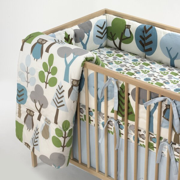 DwellStudio Owls Nursery Bedding Collection