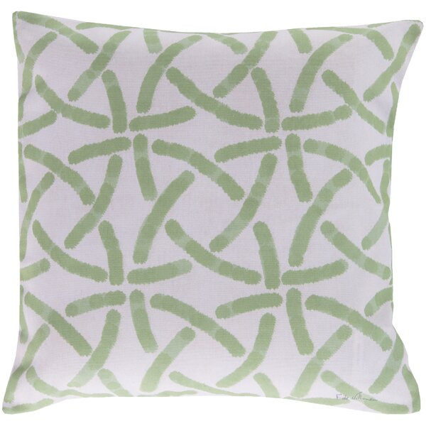 DwellStudio Celtic Trellis Celery Outdoor Pillow