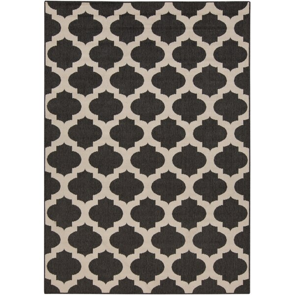 DwellStudio Modern Trellis Ink Outdoor Rug