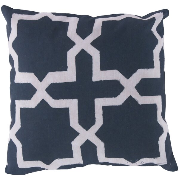 DwellStudio Madurai Navy Outdoor Pillow