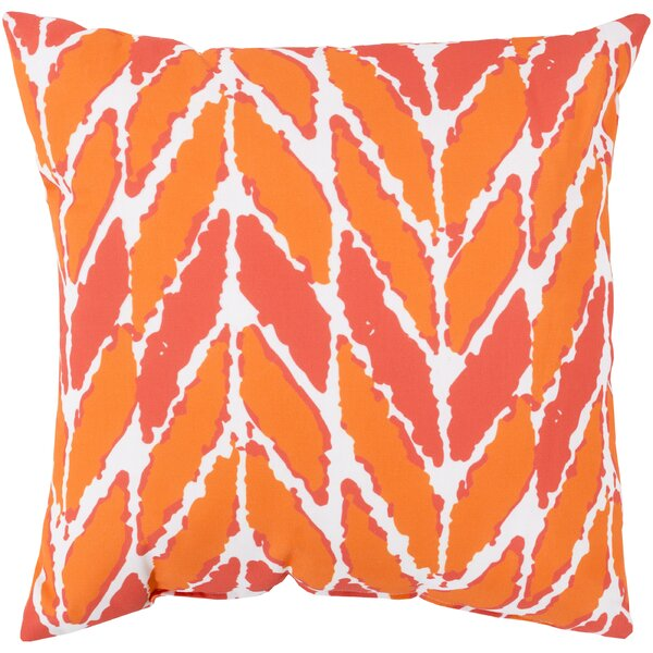 DwellStudio Arrow Outdoor Tangerine Pillow