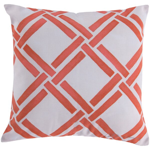 DwellStudio Gazebo Persimmon Outdoor Pillow