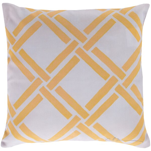 DwellStudio Gazebo Lemon Outdoor Pillow