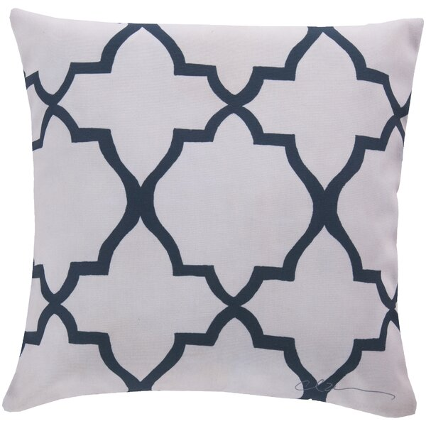 DwellStudio Minaret Navy Outdoor Pillow