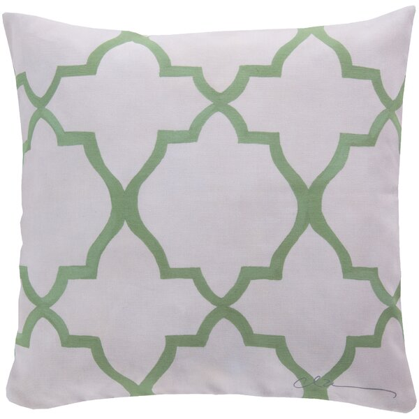DwellStudio Minaret Celery Outdoor Pillow
