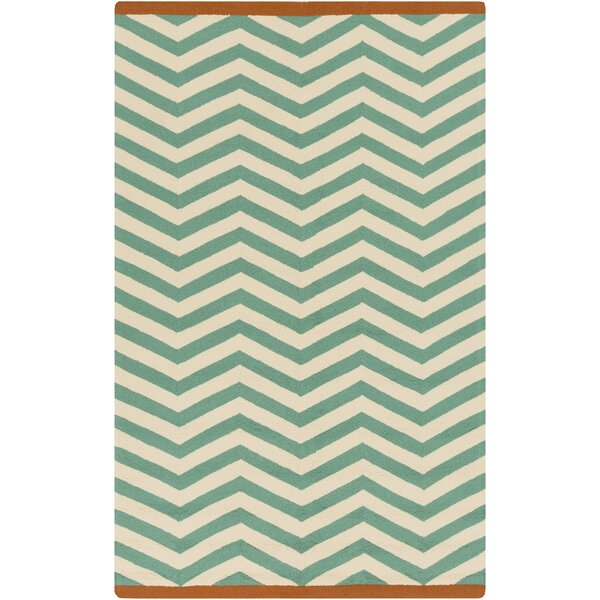 DwellStudio Chevron Jade Outdoor Rug