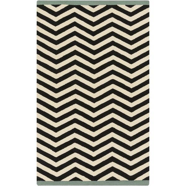 DwellStudio Chevron Ink Outdoor Rug
