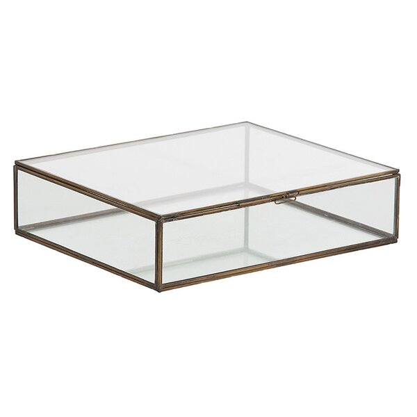 DwellStudio Vintage Glass Box