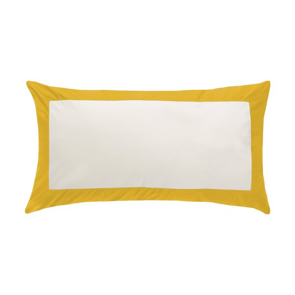DwellStudio Modern Border Citrine Sham