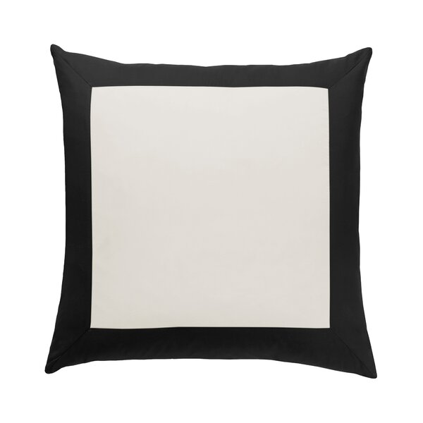 DwellStudio Modern Border Ink Euro Sham