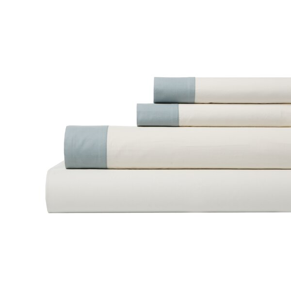 DwellStudio Modern Border Mist Sheet Set