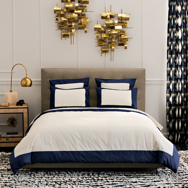DwellStudio Modern Border Admiral Duvet Cover