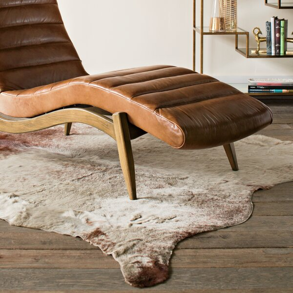 DwellStudio Brown and White Cowhide