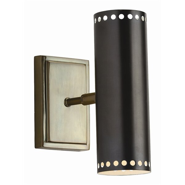 DwellStudio Dotted Cylinder Indoor/Outdoor Sconce