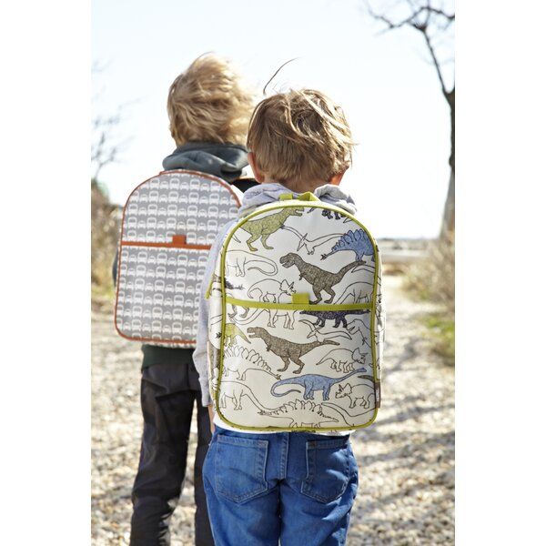DwellStudio Thermos Dinosaur Backpack