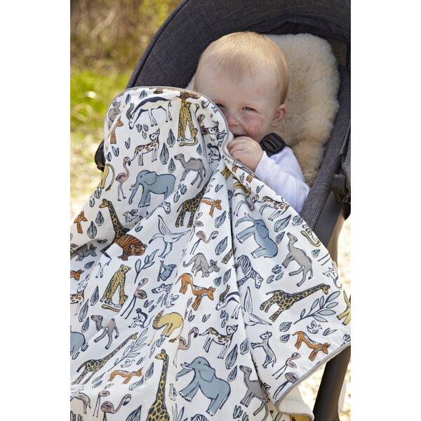 DwellStudio Safari Stroller Blanket
