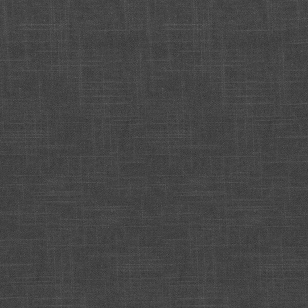 DwellStudio Linen Slub Curtain Panel in Charcoal