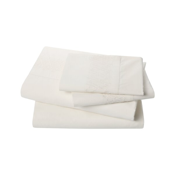 DwellStudio Filigree Pearl Sheet Set
