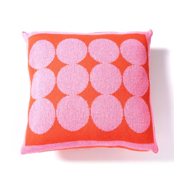 DwellStudio Graphic Dot Spice & Orchid Pillow