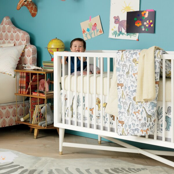 DwellStudio Savannah Fitted Crib Sheet