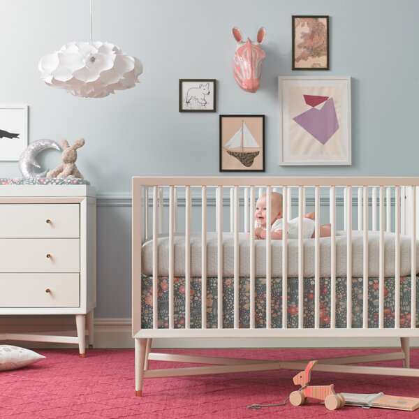 dwellstudio mid century french convertible crib dwellstudio