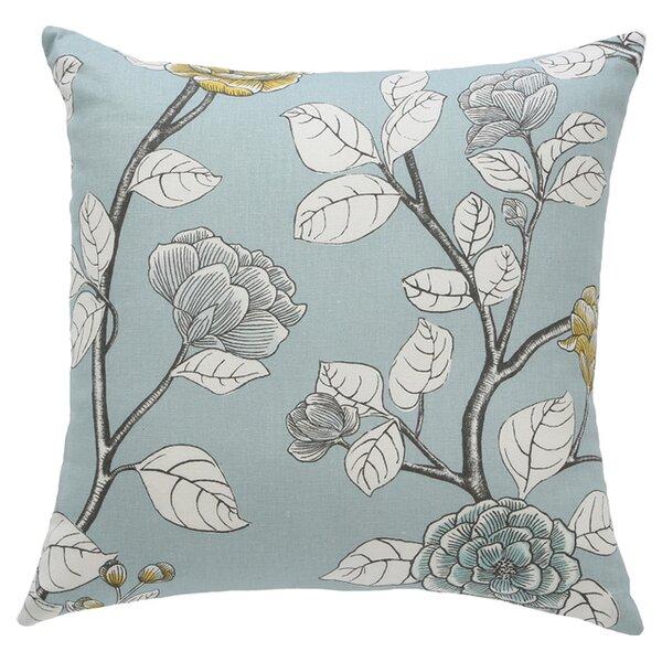 DwellStudio Leda Peony Aquatint Pillow