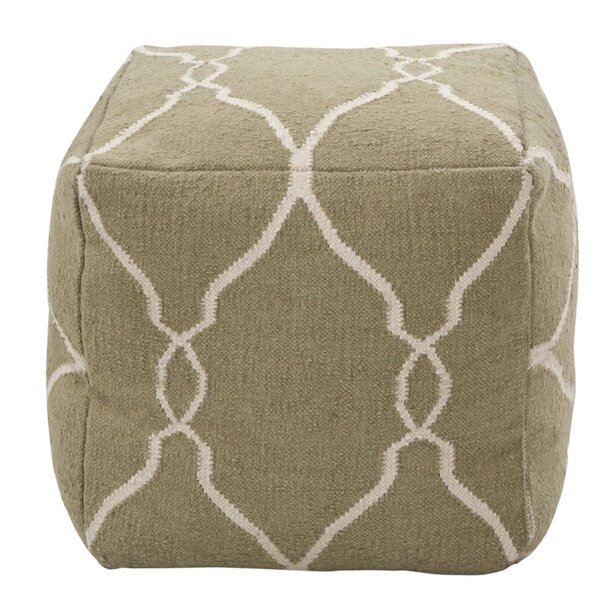 DwellStudio Marrakech Khaki Pouf
