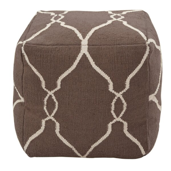 DwellStudio Marrakech Cocoa Pouf