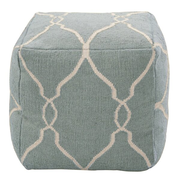DwellStudio Marrakech Slate Blue Pouf