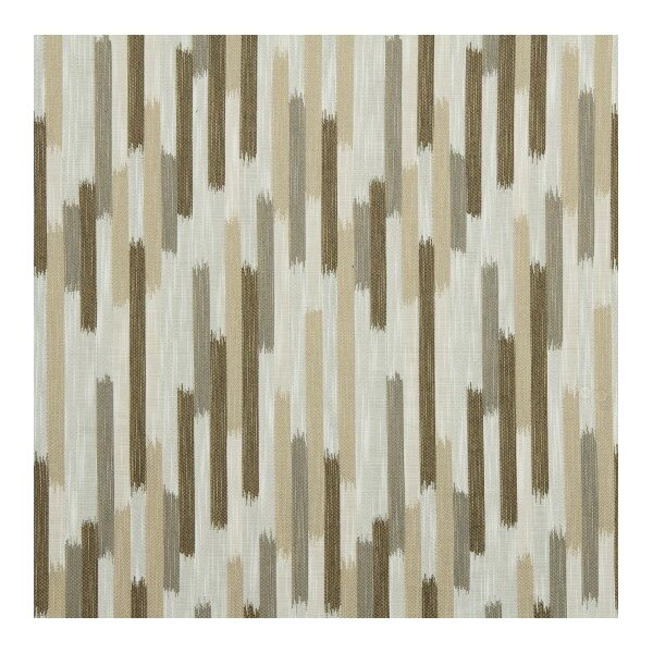 DwellStudio Ikat Blocks Fabric - Toffee