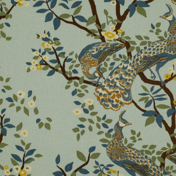 DwellStudio Vintage Plumes Fabric - Jade