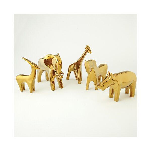 DwellStudio Horse Gold Figurine