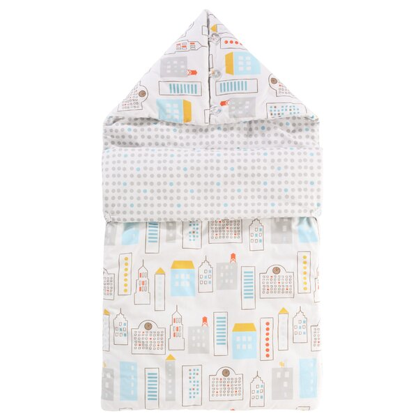 DwellStudio Skyline Light Blue Bundle Bag